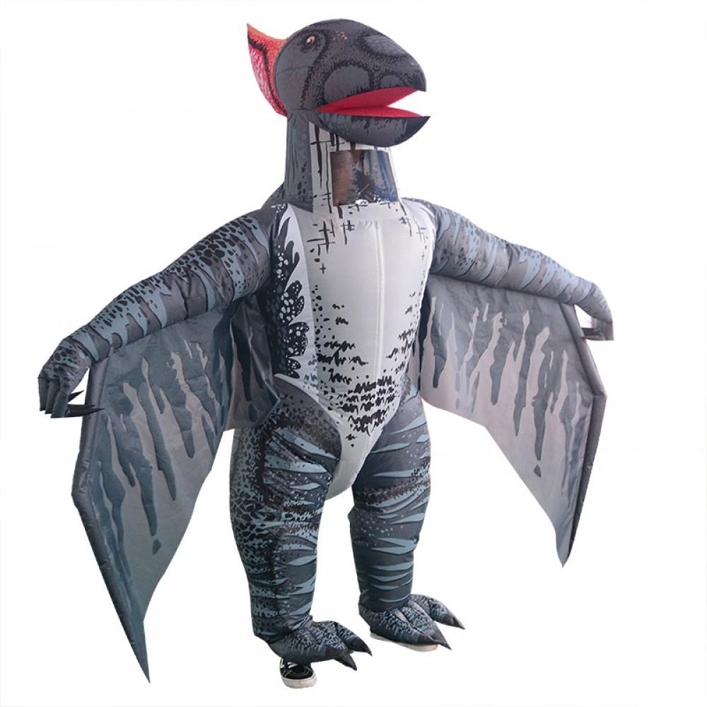 Dinosaur Children's Fancy Dress Party Costume Age 4-11