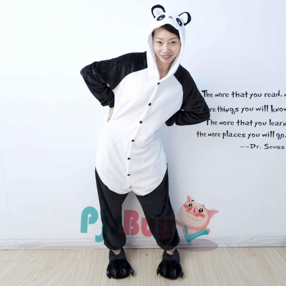 Happy Panda Adult Amp Kids Animal Onesie Pajamas In Stock