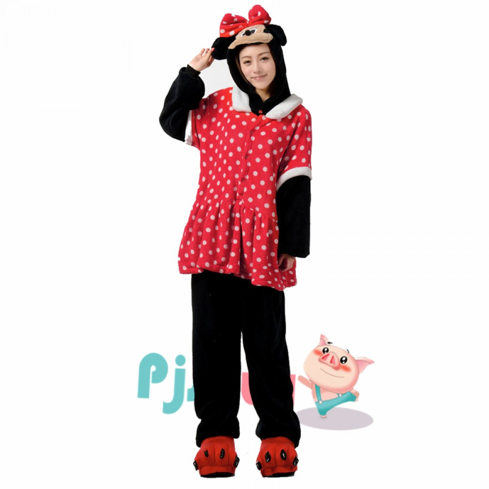 986dffcba68 Minnie Mouse Adult Animal Onesie Pajamas In Stock, Fast Delivery