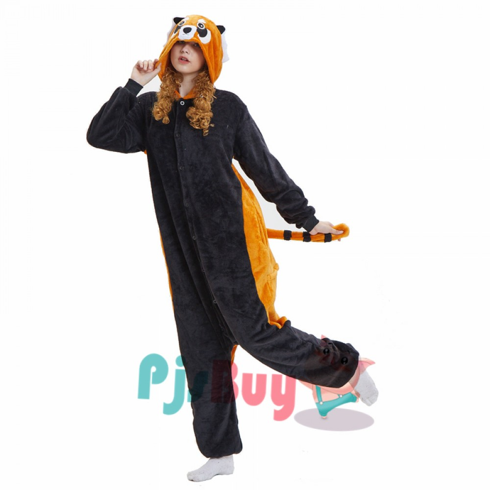 Red Panda Onesie Pajamas For Adult Fast Shipping Worldwide