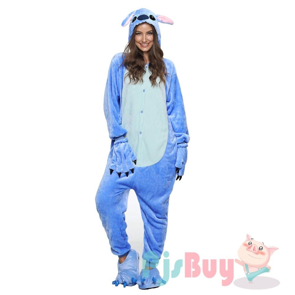 Lilo Stitch Onesie Pajamas Adult Animal Onesies Halloween Costumes Pjsbuy Com