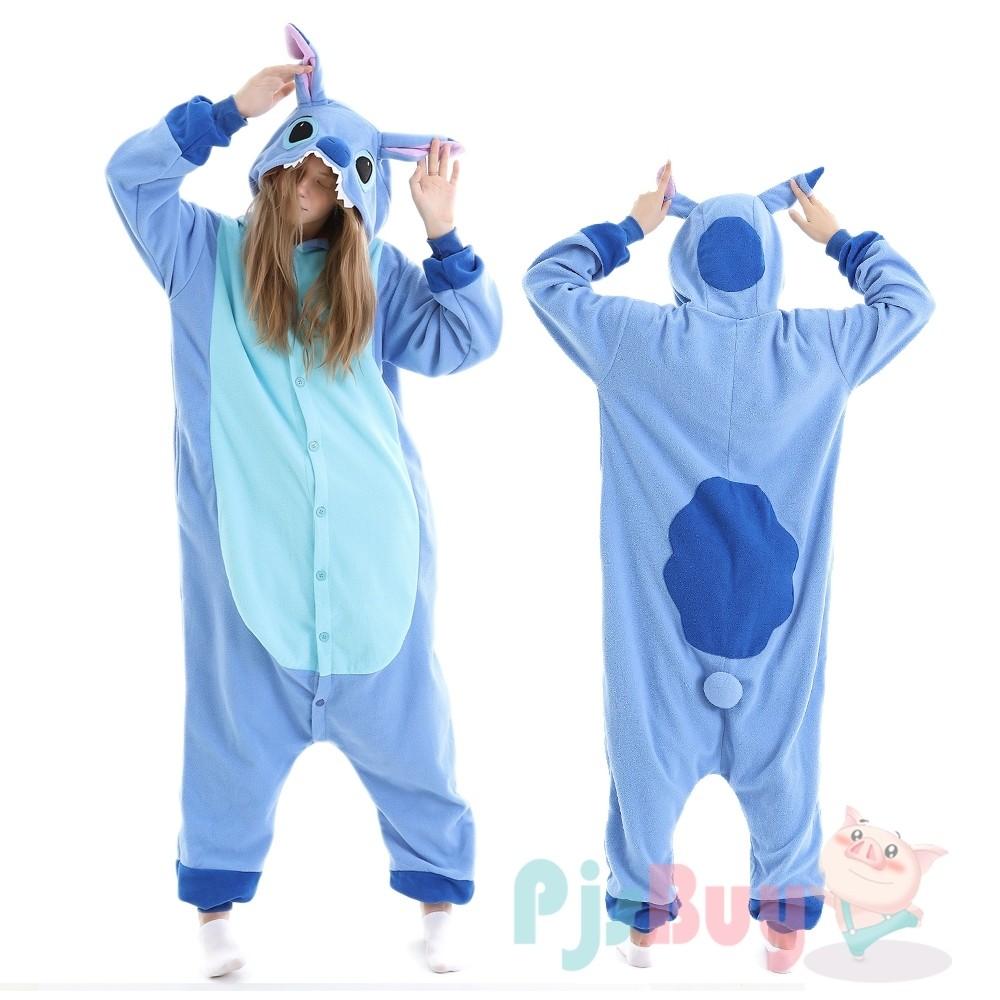 Lilo Stitch Onesie Pajamas Animal Onesies Halloween Costumes For Adult Teens