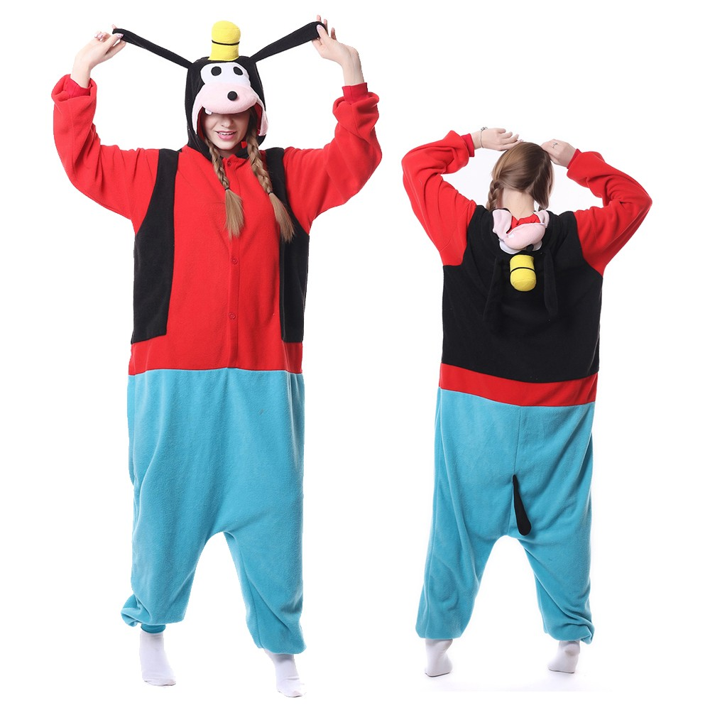 Goofy Onesie Pajamas for Adult Animal Onesies Cosplay ...
