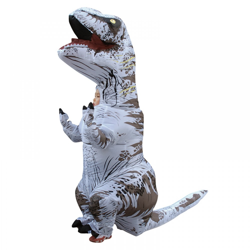 Blow Up Costumes For Kids Inflatable Dinosaur T Rex Costume Halloween Suit - Pjsbuy.com