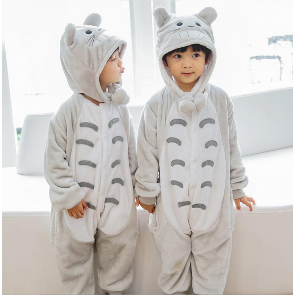 31a5e3f7 Totoro Kids Animal Onesie Pajamas Cute Costume