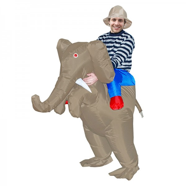 Blow Up Inflatable Elephant Costumes Halloween Animal Funny Suit for Adult