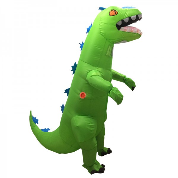 Blow Up Inflatable Dinosaur Costumes Halloween Animal Funny Suit for Adult
