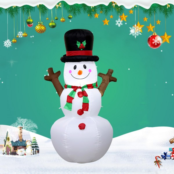 Blow up Snowman Blow Up Christmas Inflatables Decorations Led Light