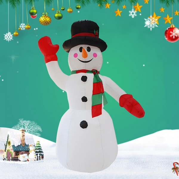 Blow Up Snowman Indoor Inflatable Christmas Decorations Led Light