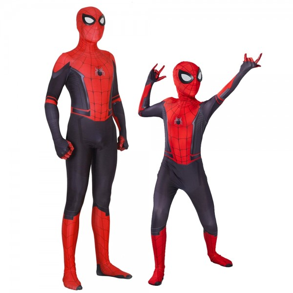 Spider Man Far From Home for Adult & Kids Cosplay Costumes Zentai Suit