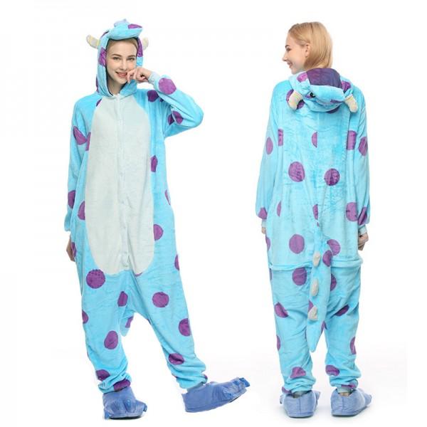 Sully Adult Animal Onesie Pajamas Costume