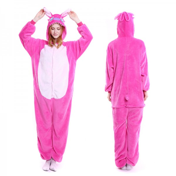 Angel Stitch Adult Animal Onesie Pajamas Costume