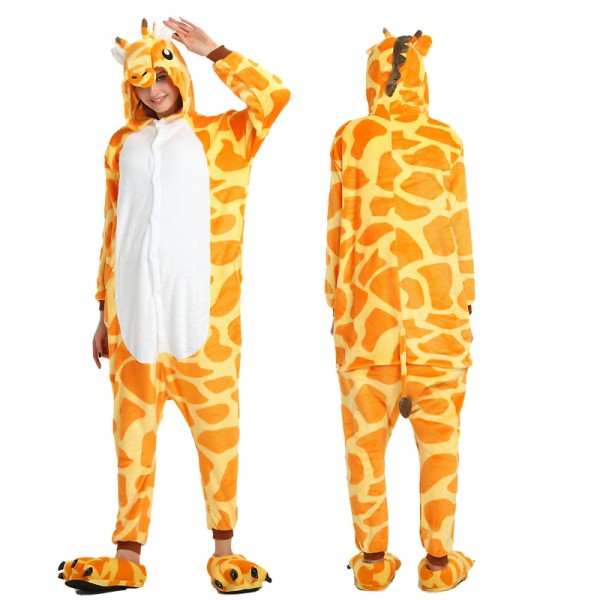 Giraffe Adult Animal Onesie Pajamas Costume