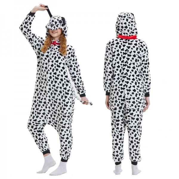 Dalmatian Dog Adult Animal Onesie Pajamas Costume