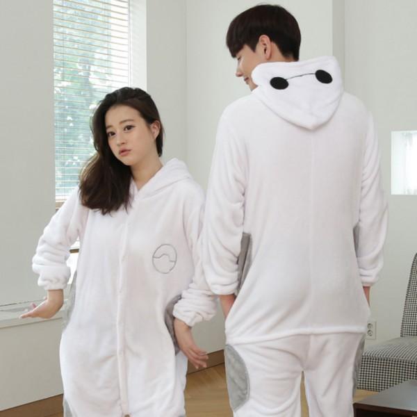 Baymax Adult Animal Onesie Pajamas Costume