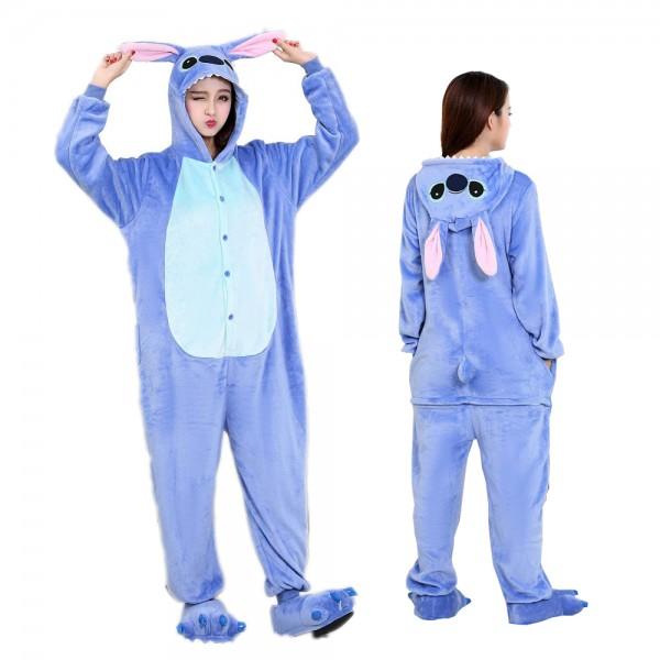 Lilo & Stitch Onesie Pajamas for Adult Animal Onesies Halloween Costumes