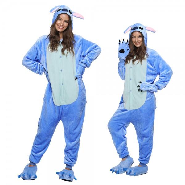 Lilo & Stitch Onesie Pajamas Adult Animal Onesies Halloween Costumes