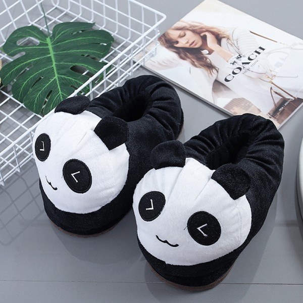 Panda Slippers Animal Onesies Pajamas Costume Warm Shoes