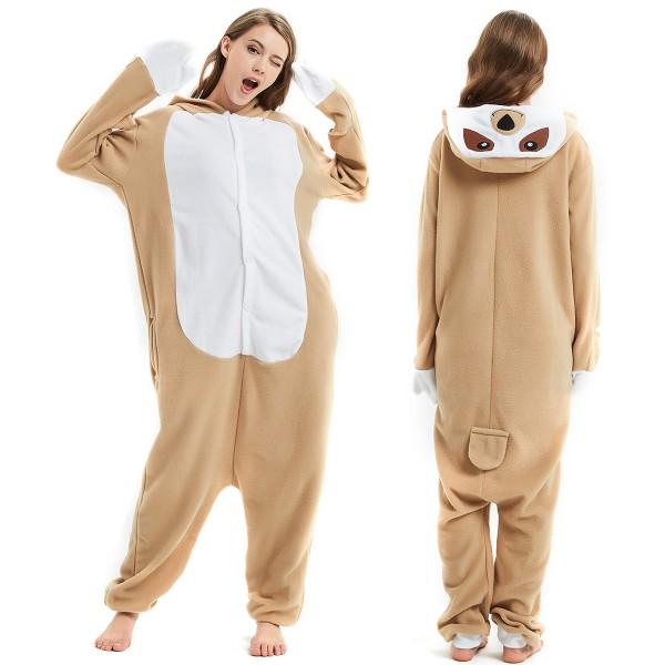 Sloth Onesie Pajamas Adult Animal Onesies