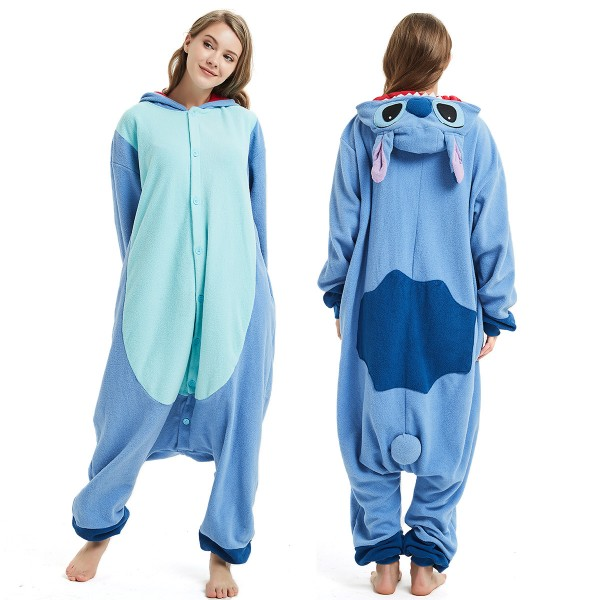Stitch Onesie Pajamas Adult Animal Onesies
