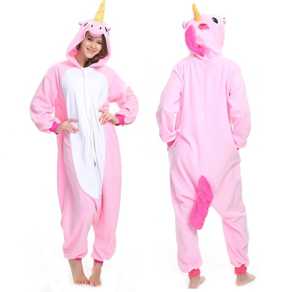 Pink Unicorn Onesie Pajamas Adult Animal Onesies
