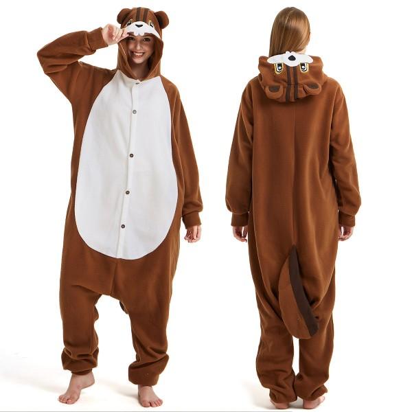 Squirrel Onesie Pajamas Adult Animal Onesies