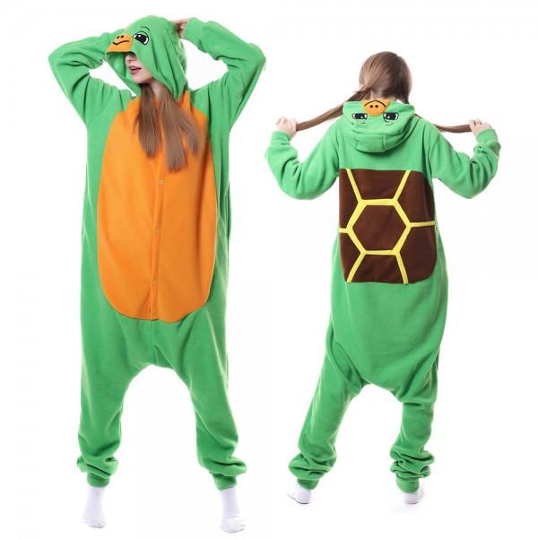 Tortoise Onesie Pajamas for Adult Animal Onesies Cosplay Halloween Costumes