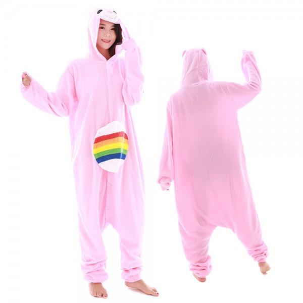 Care Bear Onesie Pajamas for Adult Animal Onesies Cosplay Halloween Costumes