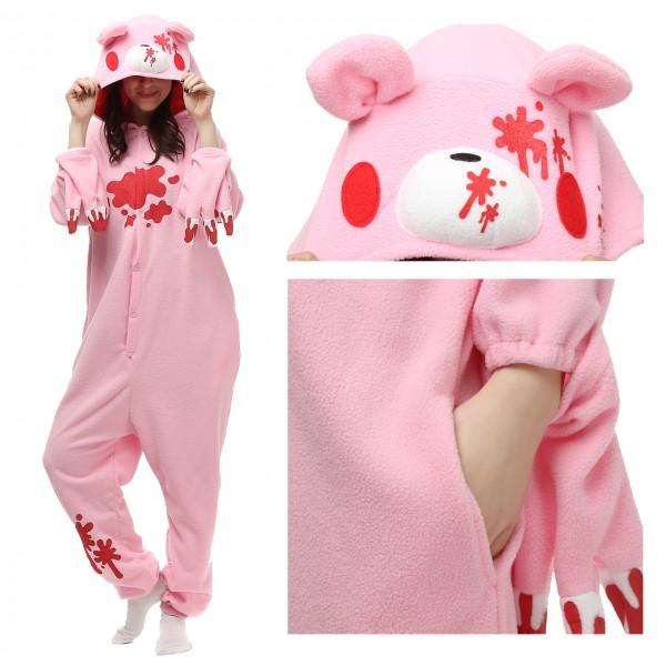 Gloomy Bear Onesie Pajamas for Adult Animal Onesies Cosplay Halloween Costumes