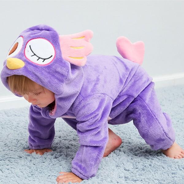 Owl Baby Boy & Girls Animal Cute Oneises Pajamas Costume