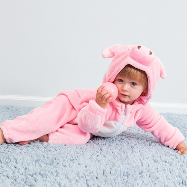 Pig Baby Boy & Girls Animal Cute Oneises Pajamas Costume
