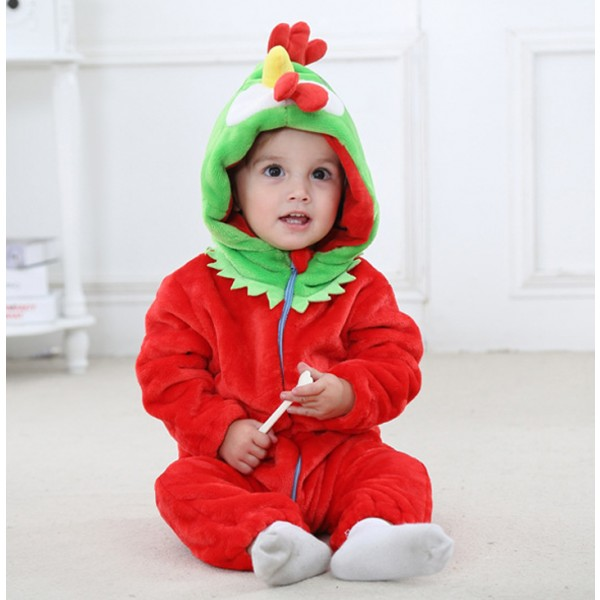 Chicken Baby Boy & Girls Animal Cute Oneises Pajamas Costume