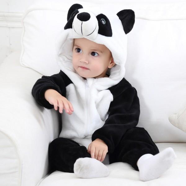 Panda Baby Boy & Girls Animal Cute Oneises Pajamas Costume