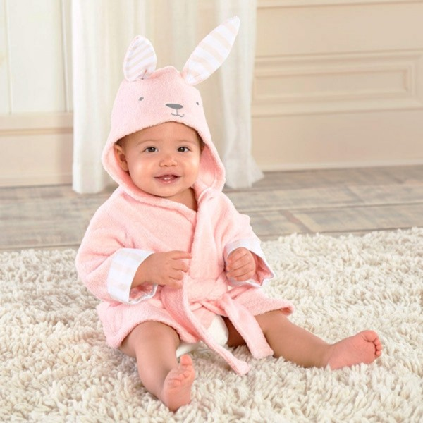 Bunny Robe for Baby Flannel Bathrobe