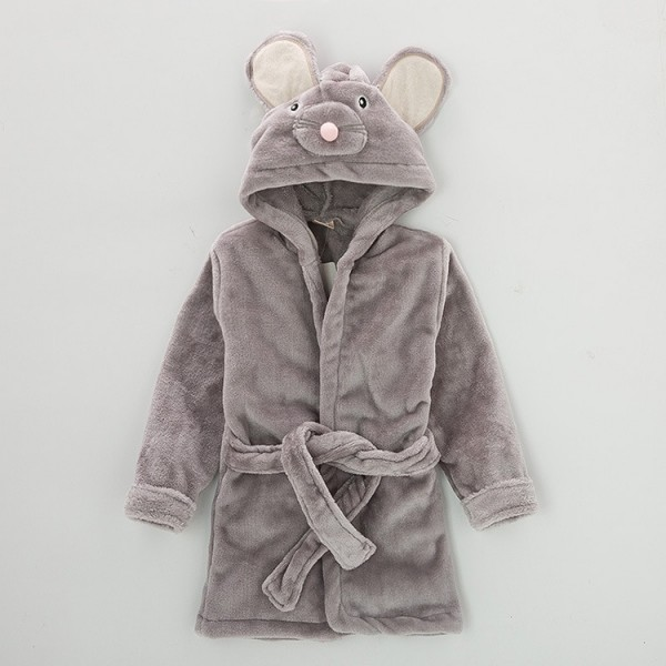 Mouse Robe for Baby Flannel Bathrobe