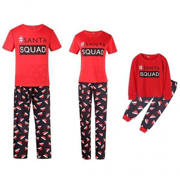 Matching Family Christmas Pajamas Santa Squad Shop Now