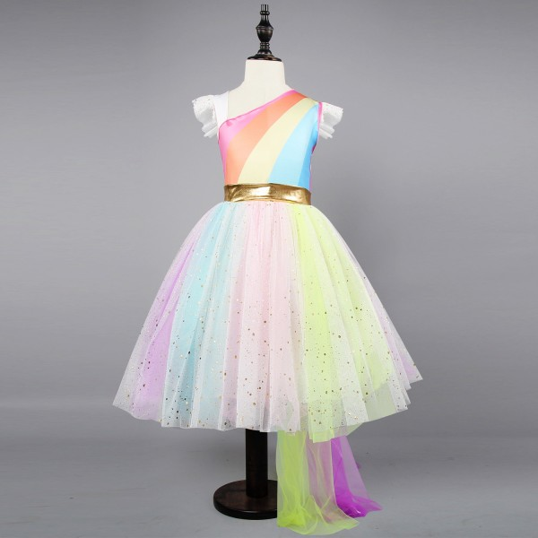 Rainbow Unicorn Costume for Girls