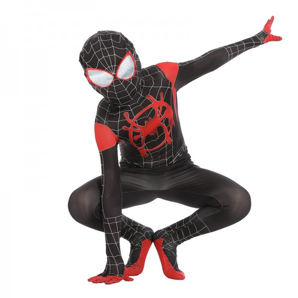 Toddler Black Spiderman Costume Into the Spider-Verse
