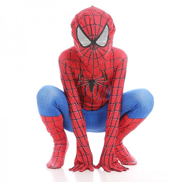 Toddler Amazing Spiderman Costume Red Spiderman
