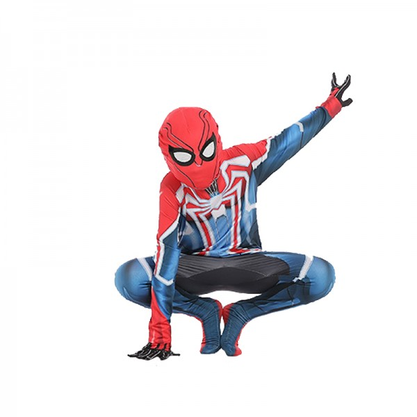 Toddler Blue Spiderman Costume Spiderman Cosplay