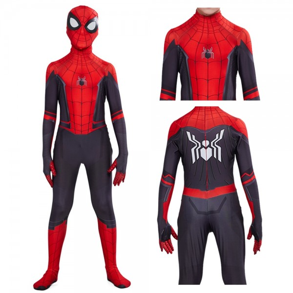 Spiderman Far from Home Costumes Kids 2019 New Cosplay Costumes Toddler