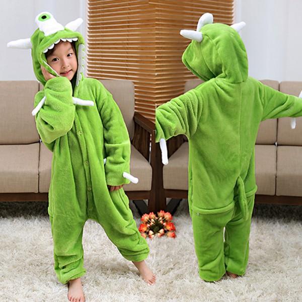 One-eyed Monster Kids Animal Onesie Pajamas Cosplay Cute Costume