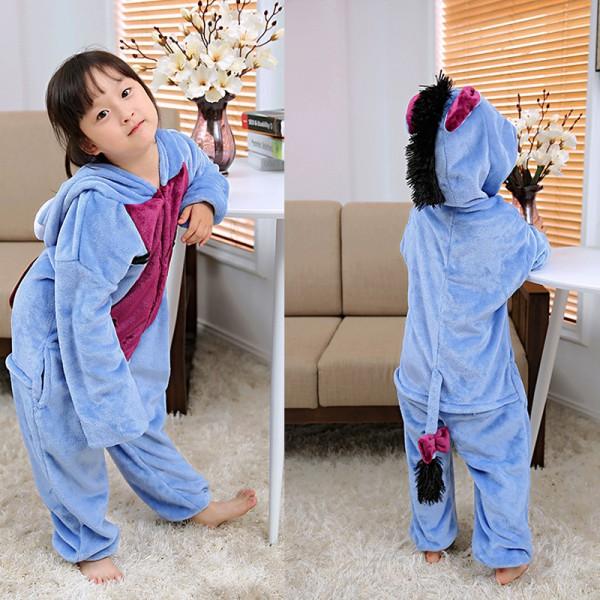 Eeyore Kids Animal Onesie Pajamas Winnie the Pooh Cute Costume