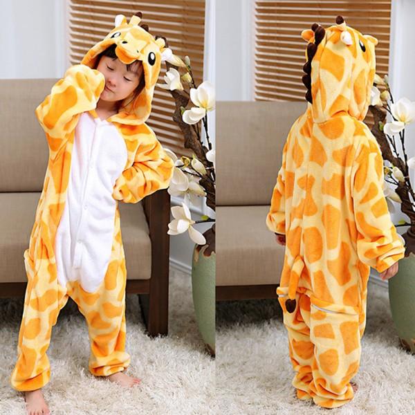 Giraffe Boys & Girls Animal Onesie Pajamas Anime Cute Costume