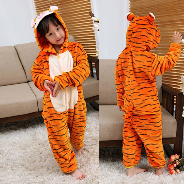 Tigger Boys & Girls Animal Onesie Pajamas Cute Costume