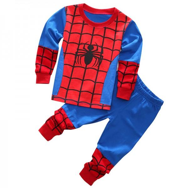 Boys Spiderman Pajamas Spiderman Pjs Toddler