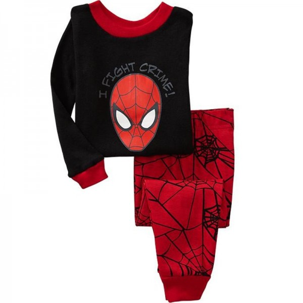 Spiderman Pajamas Toddler Superhero Pajamas Set