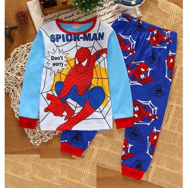 Spiderman Pajamas Toddler Superhero Pajamas