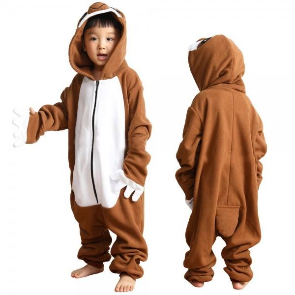 Sloth Onesie Pajamas Animal Onesies for Kids Zip up