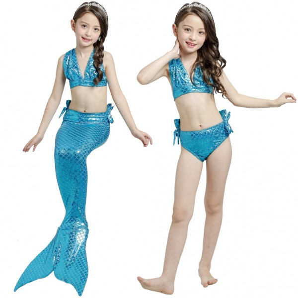 Swimmable Mermaid Tails Bikini Bathing Suit Swimming For Girls